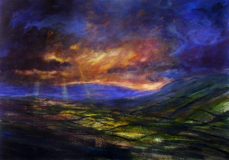 Splendor of ended day - Image 0