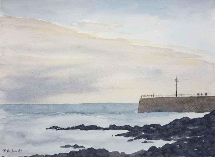 Twilight Pier -
