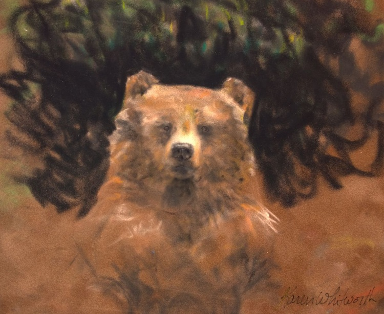 Standing Grizzly Bear - Image 0