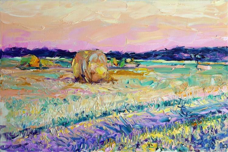 Fields, evening - Image 0
