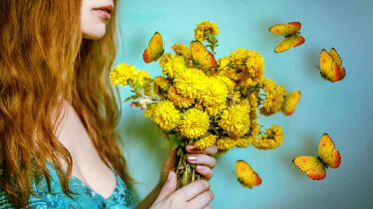 Yellow bouquet -