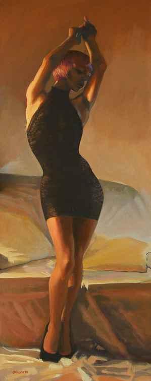 Black dress -