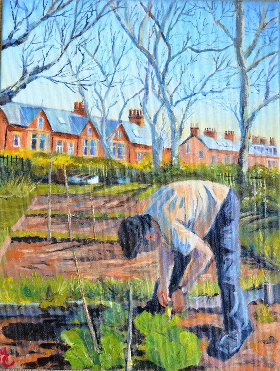 Allotment spring. - Image 0