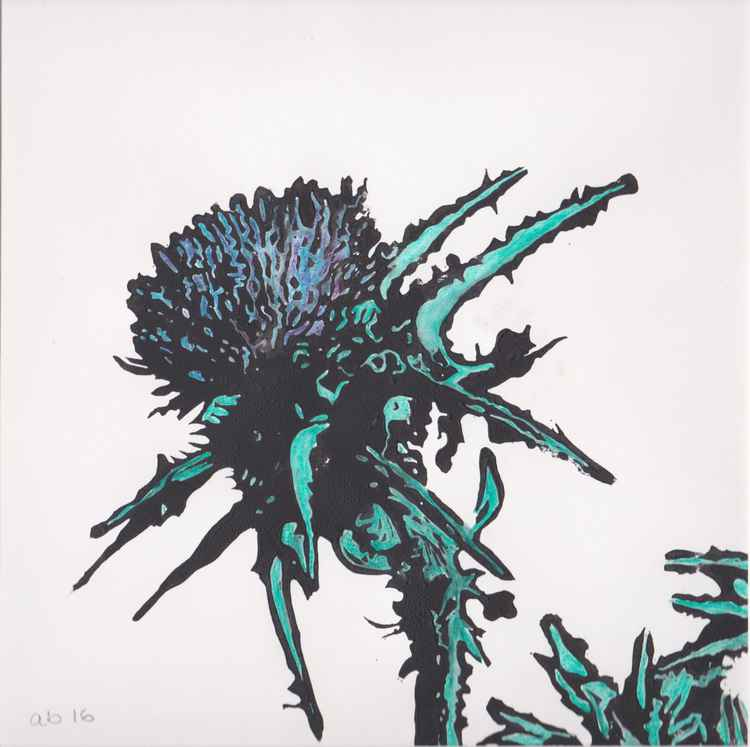 Spikes 8 - Scottish thistle -