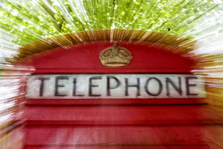 """TELEPHONE POWER ( LIMITED EDITION 1/50) 18""""x12"""" - Image 0"""