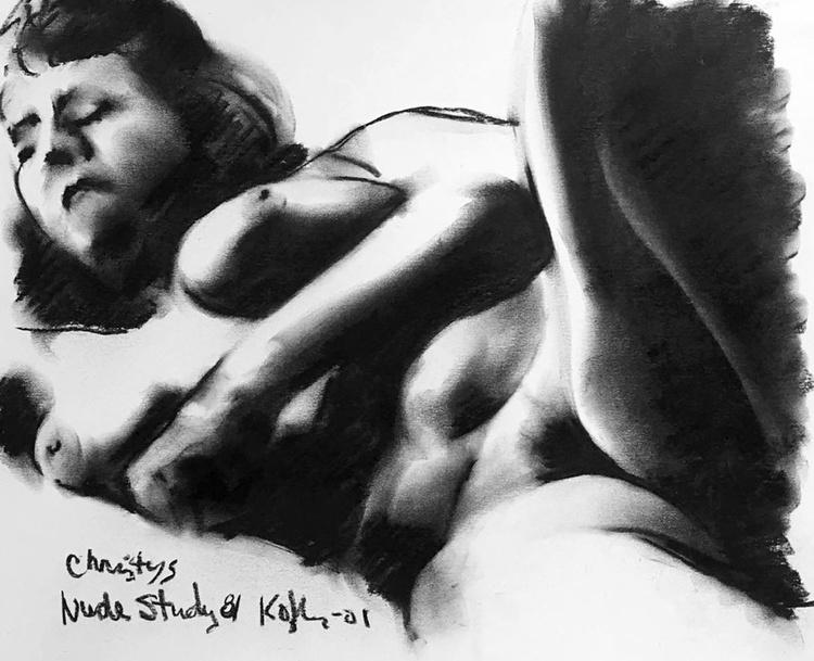 Christy 's Nude Study 81 - Image 0