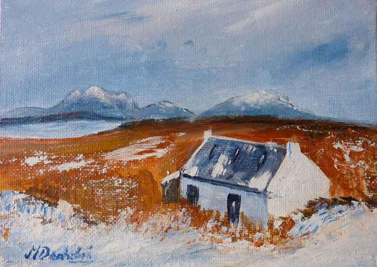 Snow in Assynt -
