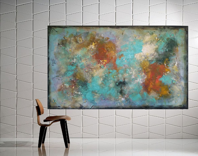 "59x 35,5""( 150x90cm), Extra large art, New Life Ahead - Image 0"