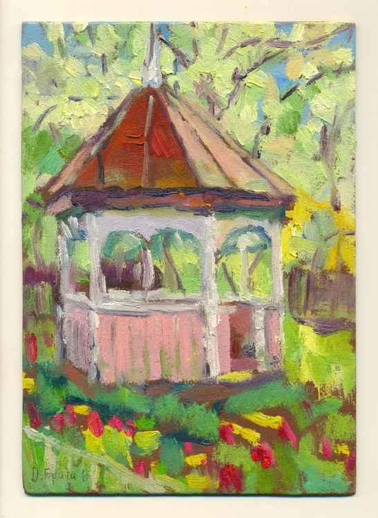 Old garden pavilion (etude)