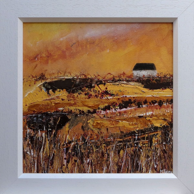 In Brown And Gold (framed) - Image 0
