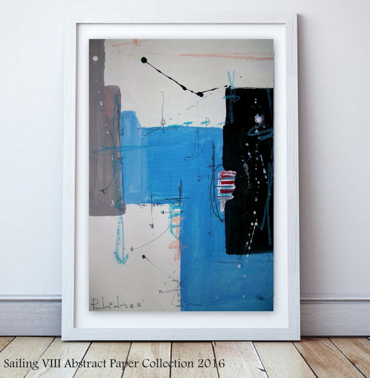 Sailing VIII , Abstract paper collection - Image 0