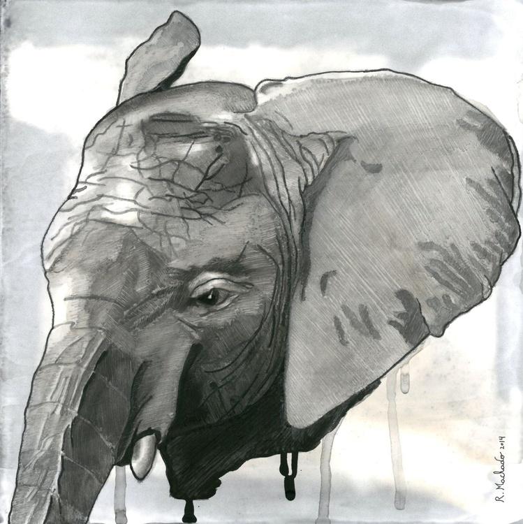 Elephant Carved II - Image 0
