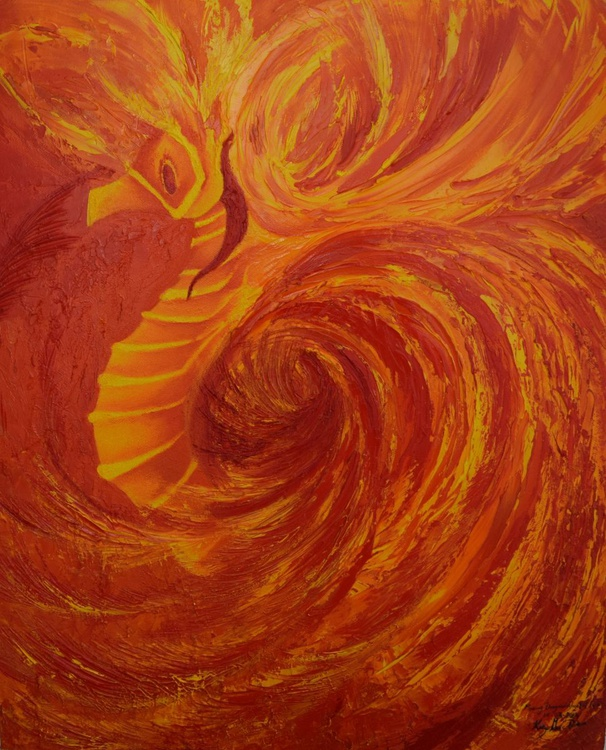 Flaming Dragons - Angel of Fire - Image 0