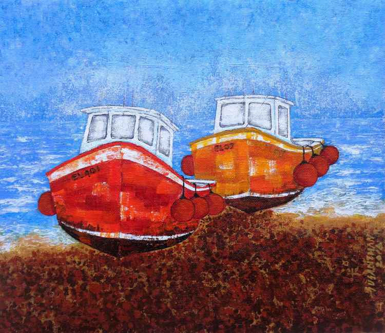 Two Boats -