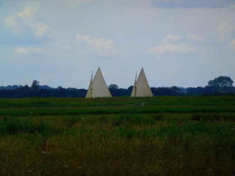 SAILS IN A LANDSCAPE