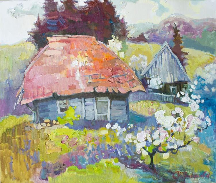 Landscape. Spring House of Elf - Image 0