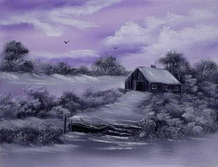 Lilac Winter Snows