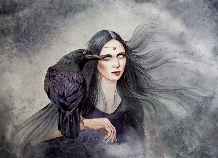 Raven Witch - Halloween - Image 0