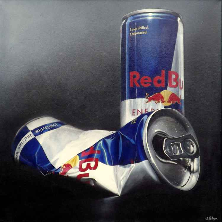 Red Bull Cans -