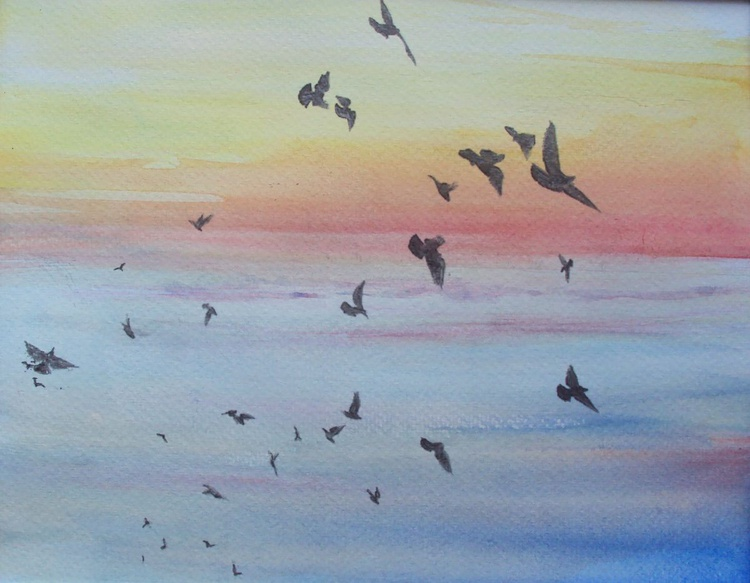 Evening Birds - Image 0