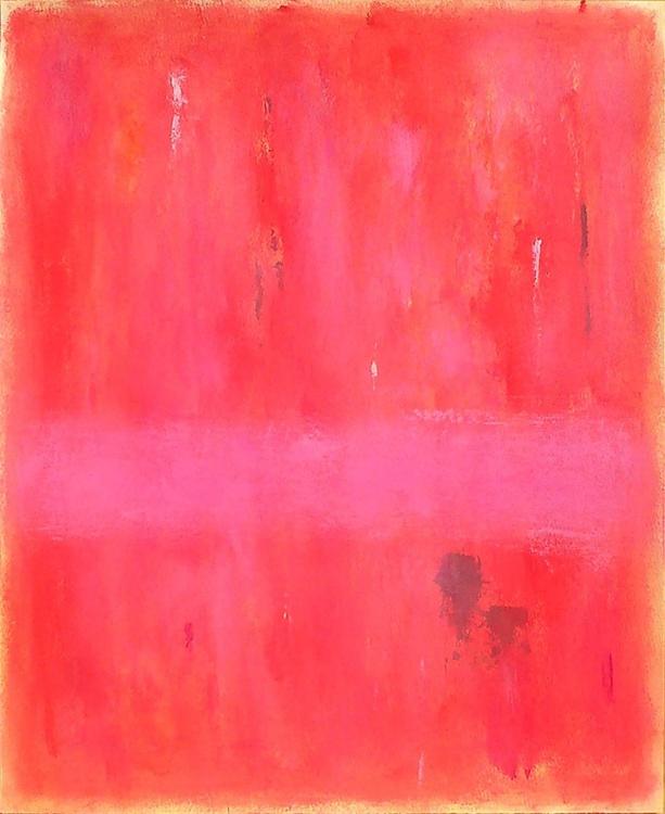 Pink Rose (papel 46,2x37,8) - Image 0