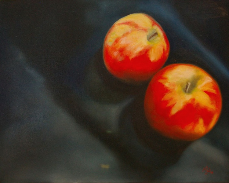 Two Apples iv - Image 0