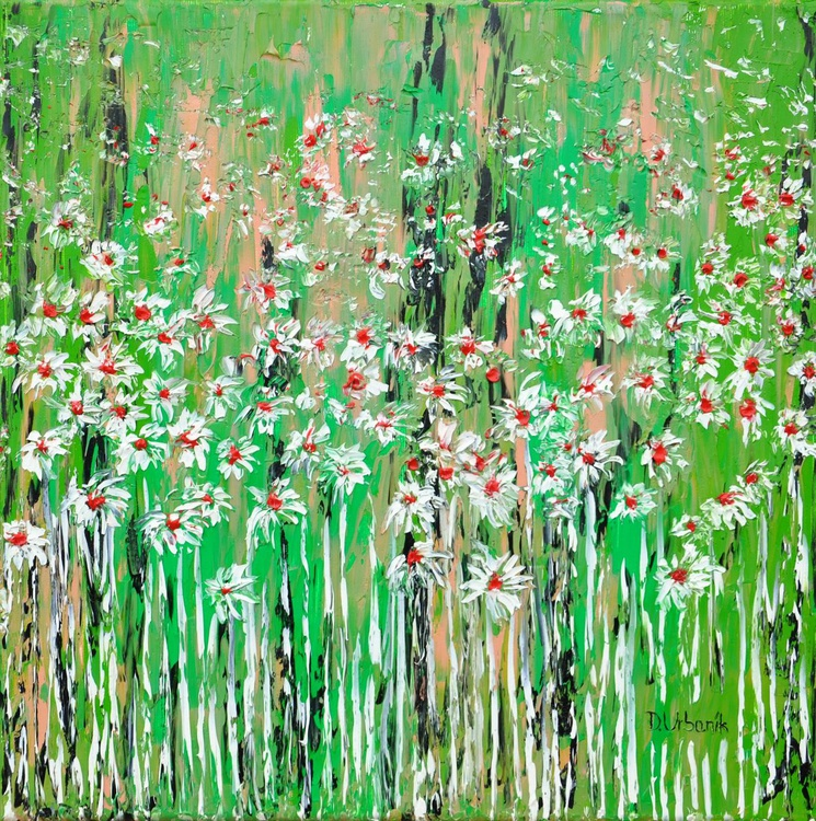 Daisies In The Grass 5 - Image 0