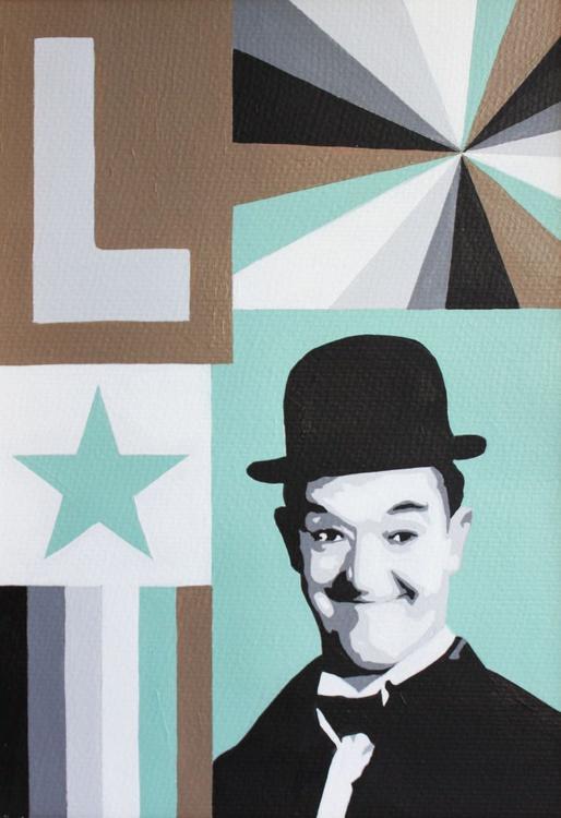 Stan, a portrait of Stan Laurel 2013 - Image 0