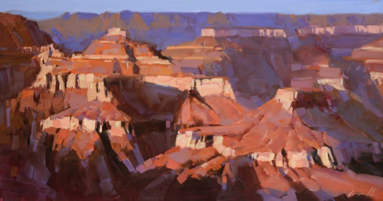Grand Canyon Arizona Original large painting on canvas - Image 0