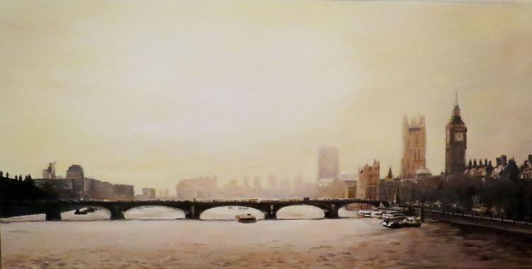 London river scene - Image 0