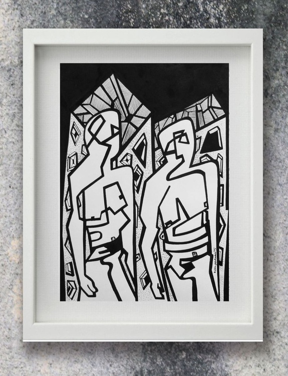 Two Figures - Image 0