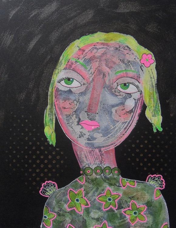 Yellow Hair Girl - Image 0