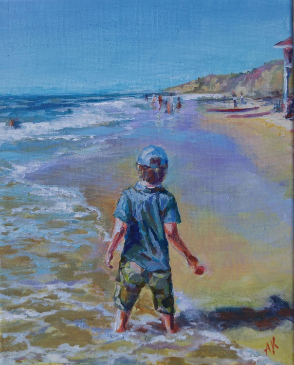 The boy and the sea - Image 0