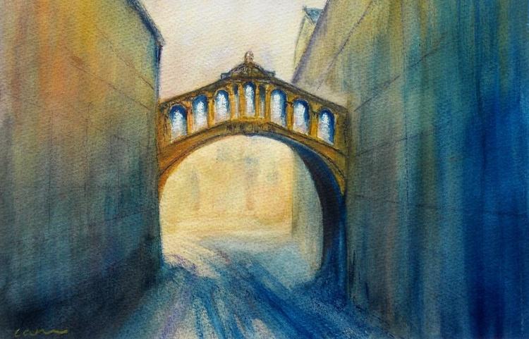 Oxford, Hertford Bridge from New College Lane - Image 0