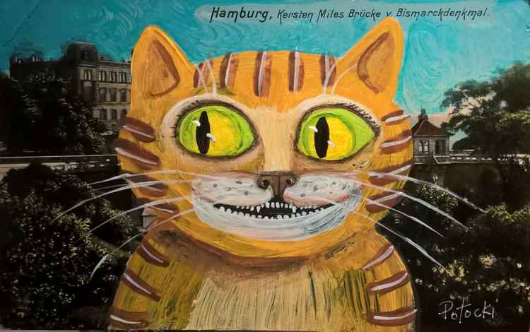 The Cat in Hamburg- Cats of May Series