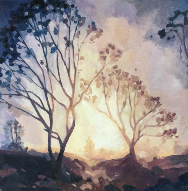 Landscape at Dusk - Image 0