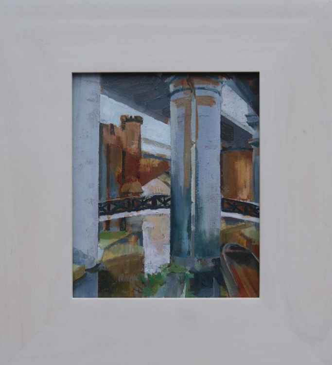 Castlefield , Manchester framed
