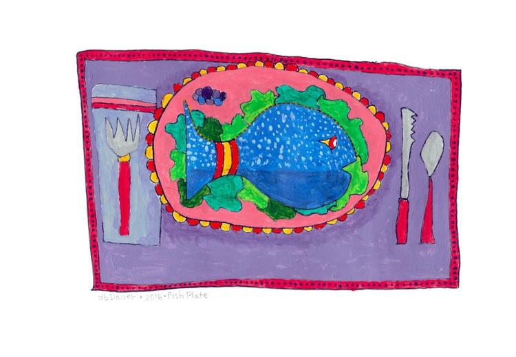 Fish Plate - Image 0