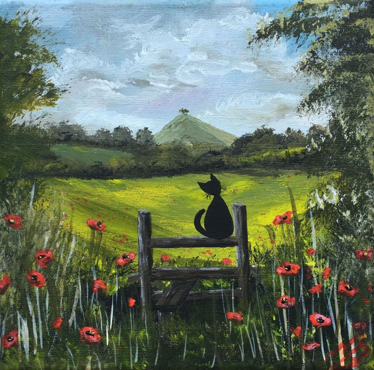 The Cat and Comer Hill. - Image 0
