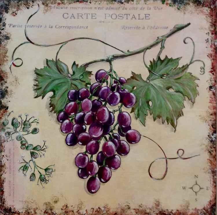 Provençal grapes
