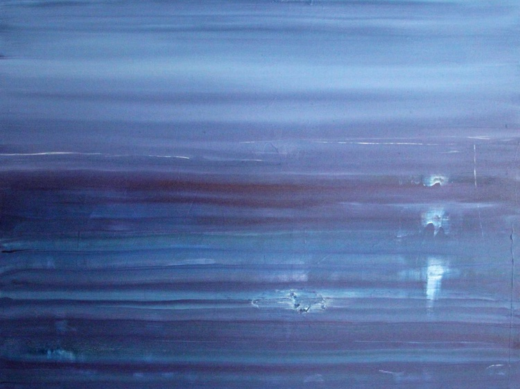 The Lost Years, abstract seascape - Image 0