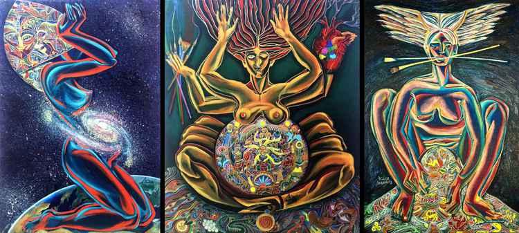 Triptych Genesis -