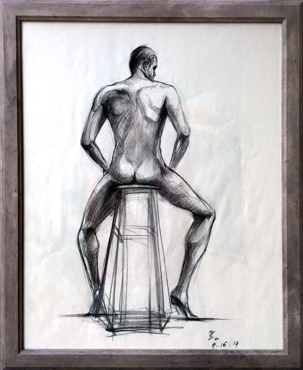 Man figure drawing - Image 0