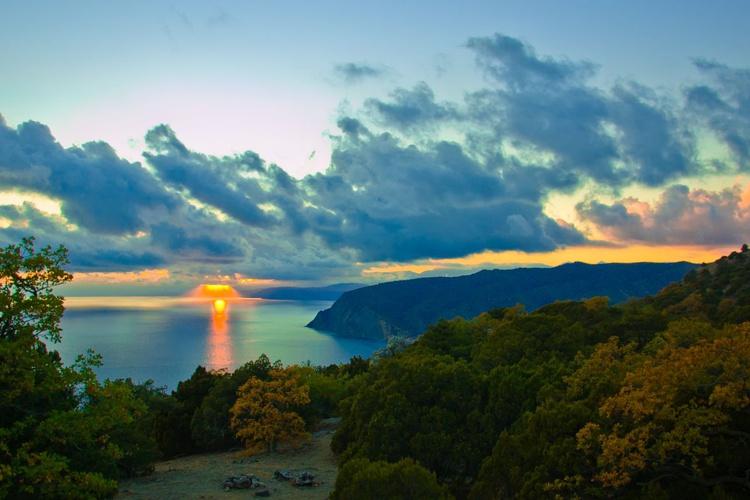 Sea sunset - Image 0