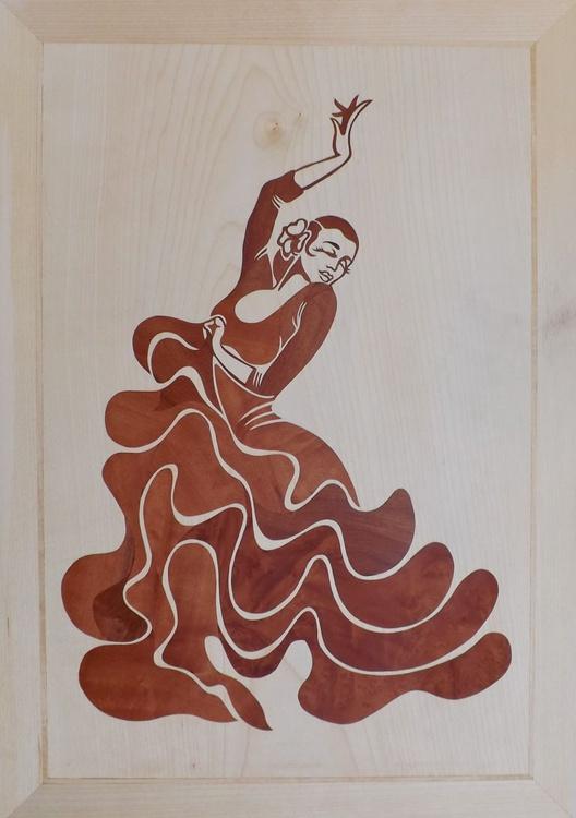 Flamenco girl - Image 0