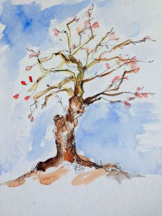 Ink Sketch #7 - Tree -
