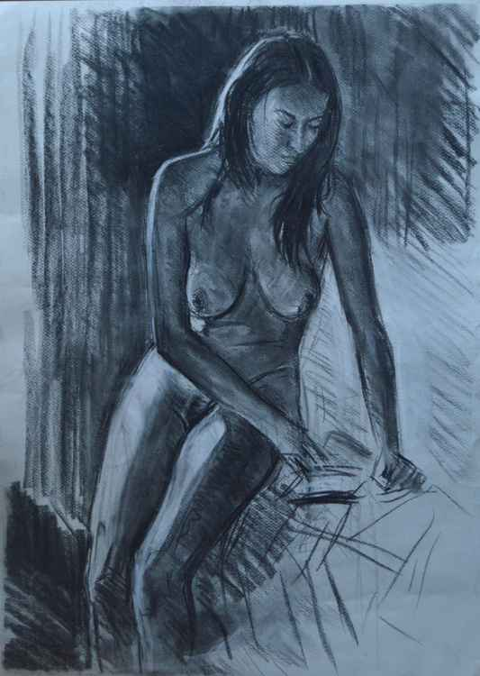 Nude In Loose Pencil