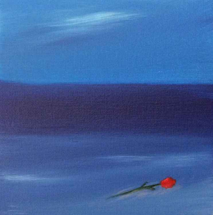 """"""" drifted by love """" ( miniature size)"""