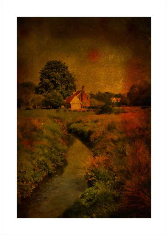 The Cottage and Stream -