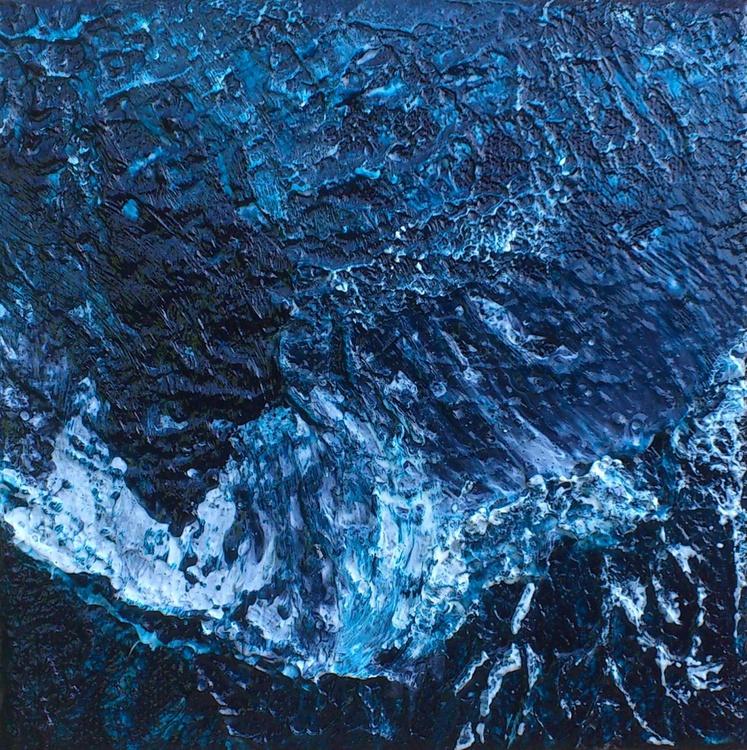 Atlantic Waves #15019 (15x15cm) - Image 0